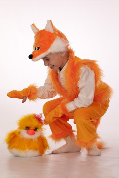 Костюм лисы своими руками для мальчика