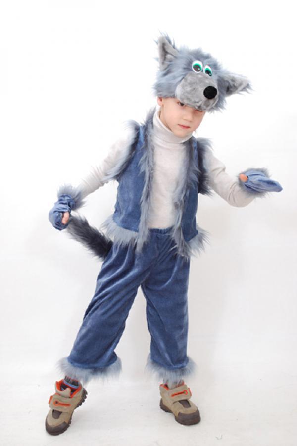 Костюм волка на новый год для мальчика