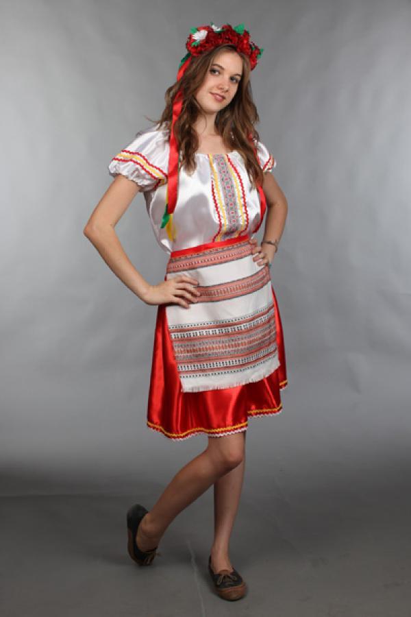 Украинский костюм женский сшить своими руками 45