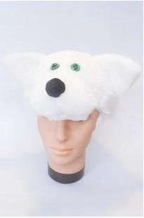 Шапочка Кот белый