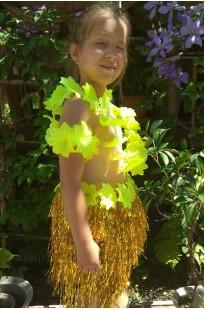 Гавайский костюм детский