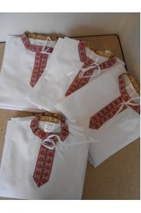 Рубашка к национальному костюму детская