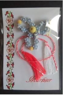 Мэрцишор Цветок с бисером