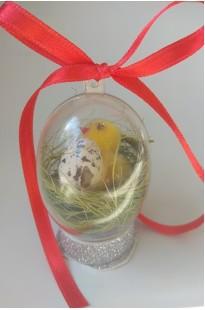 Яйцо с цыпленком и яичком