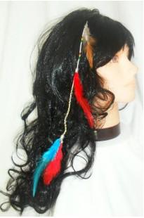 Заколка для волос Перо