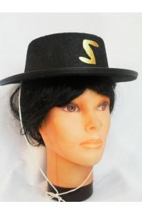 Зорро шляпа