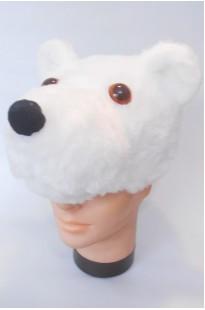 Шапочка Белый медведь