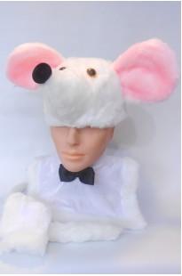 Мышка белая эконом