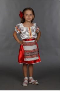 Молдавский костюм для девочки