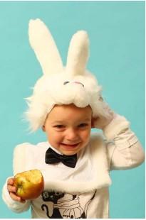 Заяц белый эконом костюм